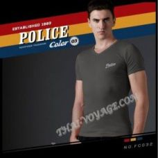 Shirt Police Art No. FC032 Color Collection - TV001353