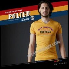 Shirt Police Art No.FC031 Color Collection - TV001354