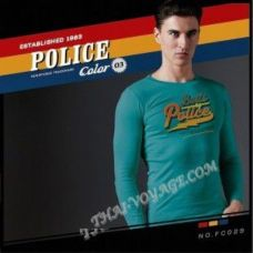 Männer T-Shirt Police Art No.FC029 Color Collection - TV001356