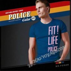 Shirt Police Art No.FC026 Color Collection - TV001359