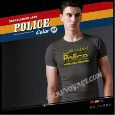 Männer T-Shirt Police Art No.FC025 Color Collection - TV001360