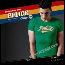 Männer T-Shirt Police Art No.FC024 Color Collection - TV001361