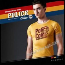 Shirt Police Art No.FC022 Color Collection - TV001363