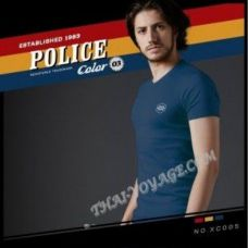 Männer T-Shirt Police Art No.XC005 Color Collection - TV001365