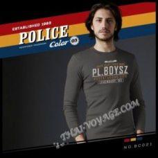 Мужская футболка Police Art No.BC021 Color Collection - TV001367