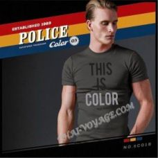 Shirt Police Art No.BC016 Color Collection - TV001372