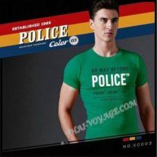 Shirt Police Art No.XC003 Color Collection - TV001374