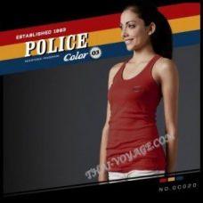 Женская майка Police Art No.GC020 Color Collection - TV001378