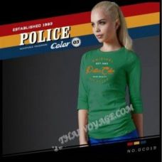 Frauen-T-Shirt Police Art No.GC019 Color Collection - TV001379