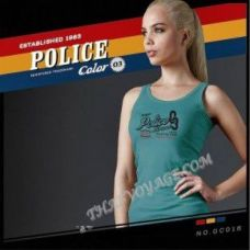 Женская майка Police Art No.GC018 Color Collection - TV001380