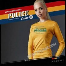 Women's T-shirt Police Art No.GC017 Color Collection - TV001381