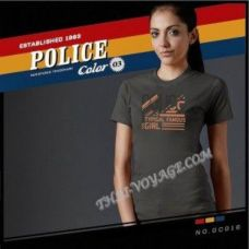 Women's T-shirt Police Art No.GC016 Color Collection - TV001382