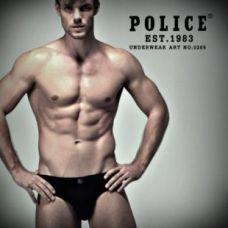Männer T-Shirt Police Art-Nr F359 Blue Jeans - TV001388
