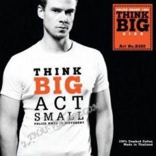 Männer T-Shirt Police Art-Nr B255 ThinkBIG - TV001400