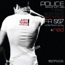 Shirt Police Art No. FR007 Red Collection - TV001409