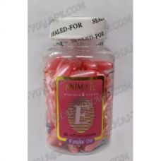 Oil for the face with Aloe Vera and Vitamin E capsules - TV001435