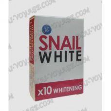 Улиточное мыло Snail White для устранения пигментации - TV001471
