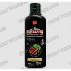 Shampoo a base di erbe per prevenire precoce incanutimento Kokliang - TV001528