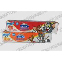 Фторсодержащая детская тайская кремовая зубная паста Kodomo - TV001555