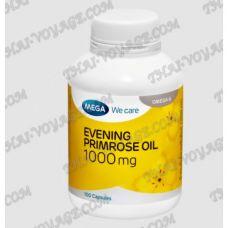 Evening Primrose Oil 1000 mg capsules Mega We Care - TV001563