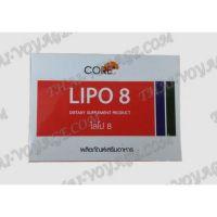 Schlankheitskapseln Lipo 8 Core - TV001578