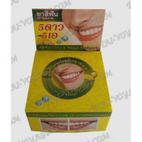 Thai round toothpaste «Mango and clove» - TV001606