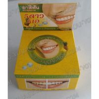 Thai round toothpaste «Pineapple and cloves» - TV001607