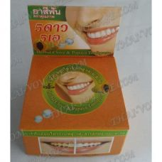 Thai round toothpaste «Papaya and clove» - TV001610