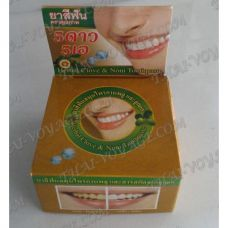 Thai round toothpaste «Noni and clove» - TV001611