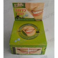 Thai round toothpaste «Charcoal powder and clove» - TV001612