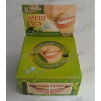 Тайская круглая зубная паста «Бамбуковый уголь и гвоздика» - TV001612