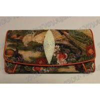 Purse female stingray leather - TV001621
