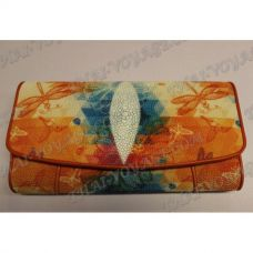 Purse female stingray leather - TV001624