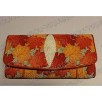 Purse female stingray leather - TV001625