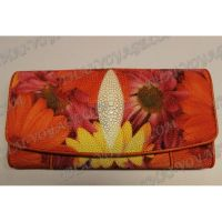 Purse female stingray leather - TV001626
