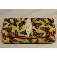 Purse female stingray leather - TV001627
