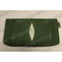 Purse female stingray leather - TV001628