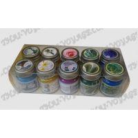 Травяные и цветочные тайские бальзамы в наборе - TV001639