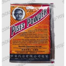 Antibacterial Thai powder from inflammation on the skin Pises Powder - TV001641