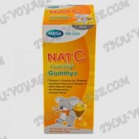 Orange Vitamin C for children Nat C Mega We Care - TV001655