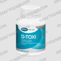 Capsules D-Toxi Mega We Care for the treatment of liver - TV001672
