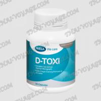 Kapseln D-Toxi Mega We Care zur Behandlung von Leber - TV001672