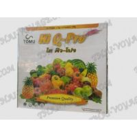 Thai activated fiber Hi Q-Pro to reduce weight and cleanse the body - TV001677