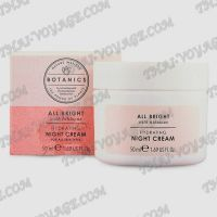 Crème hydratante de nuit pour les du visage Botanics - TV001744