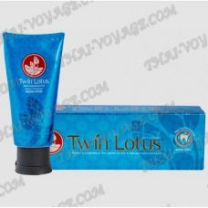 Refreshing toothpaste with the natural herbs Twin Lotus - TV001754