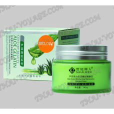 Moisturizing night facial cream with Aloe Vera Aloe Gelatin Shijiliren Belov - TV001772