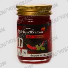 Red balm with chilli and mint - TV001778