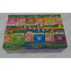 Тайская травяная зубная паста Srithana в наборе - TV001781