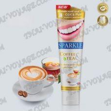 Отбеливающая освежающая зубная паста Sparkle Coffee & Tea - TV001785