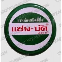 Traditional Thai balm Zam-Buk from insect bites, herpes and rash - TV001811